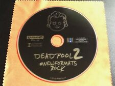DEADPOOL 2 (2018) 4K ULTRA HD Blu-Ray: NEW DISC ONLY. Ryan Reynolds, Marvel
