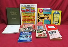 Lot of 11 Books; How to Fish, SR&C Catalog, Care and Repair of Antiques, etc