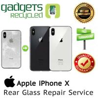 iPhone X Rear Glass Replacement Repair Service - Same Day Repair & Return