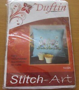 Duftin cushion 40 x 40 cross stitch art kit