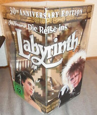 Die Reise ins Labyrinth 30th Anniversary Gift Set Blu-Ray Box David Bowie