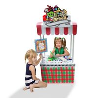 Cardboard Playhouse Little Vendor Stand 11350 Funny Paper Furniture FPF Shop
