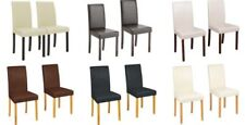 Argos Leather Dining Room Chairs