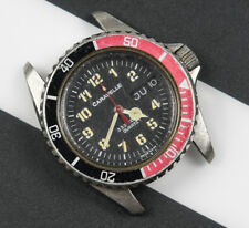 Vintage CARAVELLE 333FT Men's Diver Quartz Watch Coke Bezel FOR REPAIR