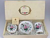 Vintage Royal Stafford England Floral Victoria's Secret Bathroom Set W/Box