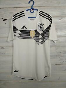 Germany Jersey Authentic 2018 2019 Home SMALL Shirt Adidas BR7313