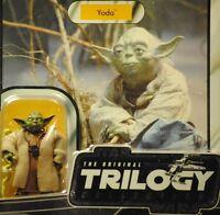 Star Wars Vintage Retro 2004 Yoda Dagobah w/ Snake VOTC MOC Unpunched ESB figure