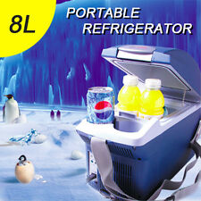 New 8L Portable Car Fridge Freezer Cooler Warmer 12V Camping Refrigerator