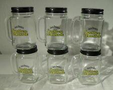 6x neue Jack Daniels Lynchburg Lemonade Gläser mit Schraubdeckel Limonade 480ml