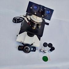 Professional Quality Binocular Microscope w Phase Contrast & Polarizing Kit7