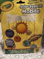 Crayola Solar System Mobile Creative Classroom Space Art Craft Project Ages 5+