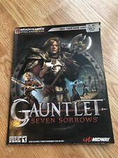 Gauntlet Seven Sorrows Brady Games Strategy Guide