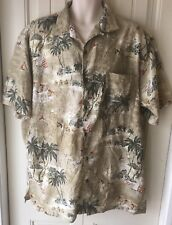 Joe Marlin Men's Large Hawaiian Shirt