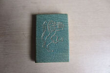 Miniature book, Addresses of Queen Elizabeth II [on] Silver Jubilee, leather