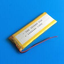 1000mAh 3.7V Li Po Battery for MP5 PSP GPS Camera DV Selfie Stick Speaker 353085