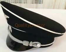 Military WWII WW2 German Elite Officer Hat SS2 Officer Visor Cap all size