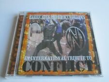 Barricades & Broken Dreams Conflict Tribute by Various Artists CD UK Imp 2001NEW