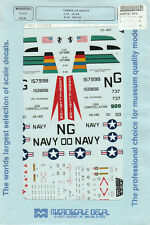 1/72 MicroScale Decals Carrier Air Wing 9 CAW-9 S-3A CV-64 A-6A VA-145 72-421