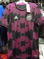 Adidas Mexico Stadium Black Pink Soccer Jersey 2021 Size Medium Men's Only