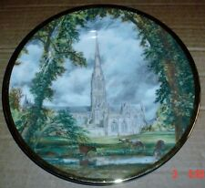Finsbury Fine Bone China JOHN CONSTABLE SALISBURY CATHEDRAL Collector Plate