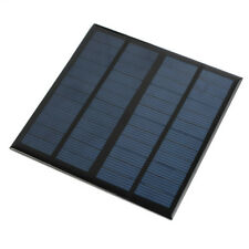 Mini 12V 3W Solar Panel Module For Light Battery Cell Phone Charger 250mAh N4E3