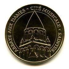 17 SAINTES Abbaye-aux-Dames, Couleur or, 2014, Monnaie de Paris