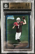 2006 Bowman Chrome #224 Matt Leinart Rookie Card RC Heisman USC BGS 9.5 GEM MINT