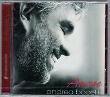 Andrea BOCELLI: AMORE Kenny G Stevie Wonder Christina Aguilera Somos Novios CD
