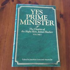 YES PRIME MINISTER The Diaries Of James Hacker Volume #1 HC/DJ - EXCELLENT!