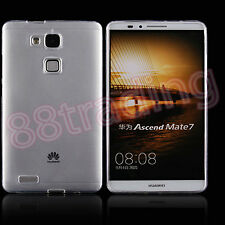 Ultra Thin Slim Clear Transparent Body Protection Gel Case for Huawei Mate 7