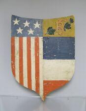 Ecusson porte drapeau de la libération de 39/45. WWII