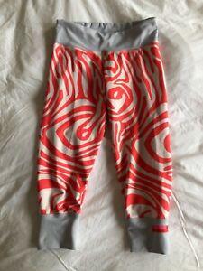 Stella Macartney Adidas mid-calf stripy leggings, gym, yoga