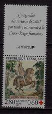 n°5) CARNET  CROIX ROUGE Neuf**MNH 1995 n°2946 + Vignette (red cross) SAUMUR