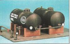 RATIO 530 OO SCALE Oil Tanks x 2. Includes pipework