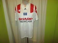 "Hamburger SV Adidas Equipment Trikot 1993/94 ""SHARP VIEWCAM"" + Nr.10 Gr.M- L TOP"