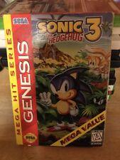 Sonic The Hedgehog 3 - Sega Genesis Game