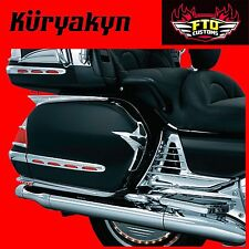 Kuryakyn Chrome Saddlebag Scuff Protectors 2001-2010 Goldwing 1800 Models 3918