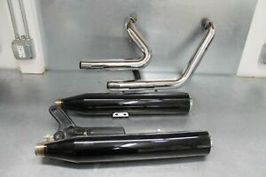 Nice '18-21 Harley Davidson Softail Slim Screaming Eagle Exhaust Used