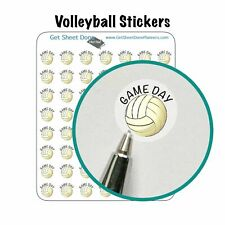 Volleyball Game Reminder Planner Stickers Hobinichi Bullet Journal Happy Filofax