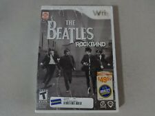 Beatles Rock Band - Nintendo Wii Complete Free Ship