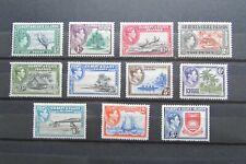 Gilbert & Ellice Islands – Complete KGVI Mint Stamp Set (1939): SG43 – 54