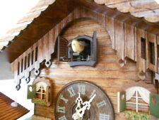 ORIGINAL BLACK FOREST Cuckoo Clock Alpen Farm & Weather House Good Idea for Gift