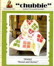 "THE TEACHER'S PET ""CHUBBIE"" - TP#003 - BREAD AND BUTTER QUILT PATTERN"