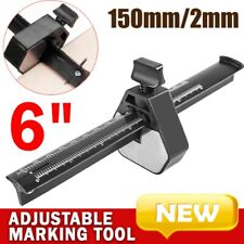 "6"" Adjustable Marking tool Measuring Cutting Woodworking Gauge Line Scribber New"
