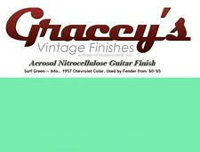 -Surf Green- Gracey's Vintage Finishes Nitrocellulose Guitar Lacquer Aerosol.