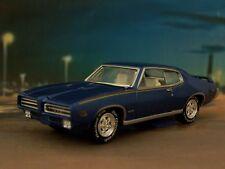 1969 69 PONTIAC JUDGE GTO 1/64 SCALE COLLECTIBLE REPLICA DIORAMA MODEL