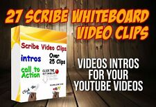 Scribe Videos 25 | Intros Clips | Your YouTube Videos | Whiteboard Scribe Video