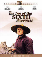 Inn Of The Sixth Happiness DVD Academy Award Nominee Ingrid Bergman New