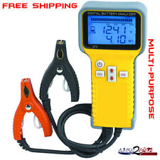 Marine Boat Motorcycle Sportbike ATV Car Jetski PWC RV Battery Tester Analyzer