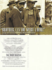 BROTHER CAN YOU SPARE A DIME - MUSIC & STORIES ADVERTISING COLOUR POSTCARD